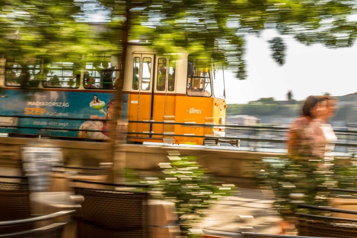 Raitiovaunu Budapestissa